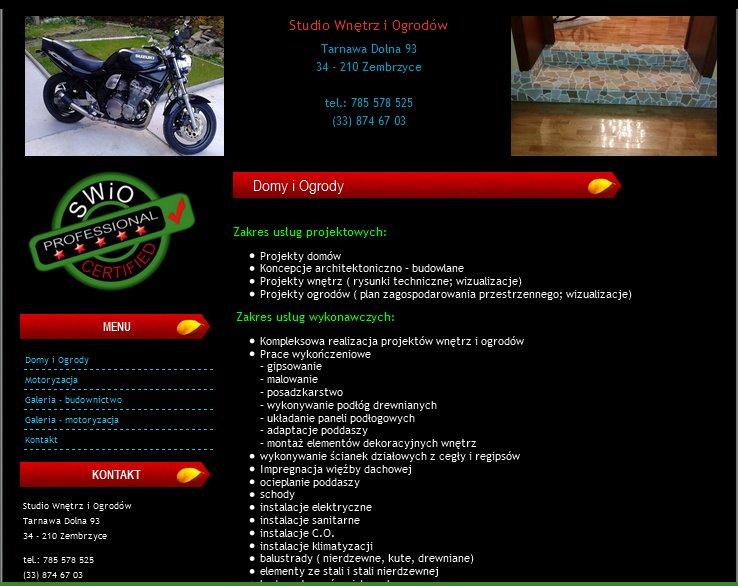 strona internetowa swio
