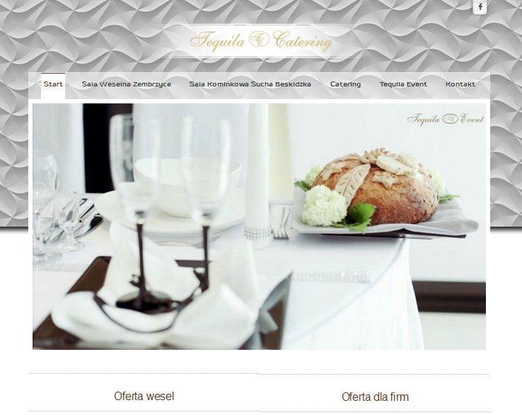 strona internetowa tequila catering